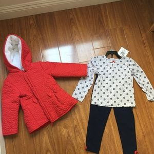 NWT Little Me Girls 3 Piece Set - 3T